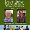Simultaneous Global Policy-Making: John Bunzl on SIMPOL